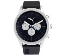 Puma Chronograph Quarz Smart Watch Armbanduhr mit Plastik Armband PU104281004