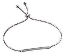 Celesta Silber Armband 925 Sterling Silber rhodiniert Zirkonia weiß Brillantschliff 22.5 cm 471260020