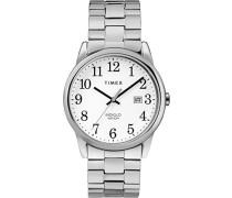 Datum klassisch Quarz Uhr mit Edelstahl Armband TW2R58400