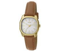 ! Armbanduhr Golden Leather Analog Quarz Leder JP101832002