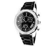 Armbanduhr Analog Quarz Premium Keramik Diamanten - STM15L4