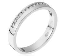 Damen Ring 18 Karat (750) Gold Diamant 0.26 ct