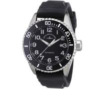 Armbanduhr XL Diver Analog Automatik Kautschuk 6492-a1-1
