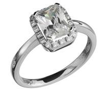 Celesta Ring Sterling Silver 925 Silber rhodiniert Zirkonia weiß