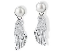 Damen- Ohrstecker 925 Silber Perle weiß LD FM 22
