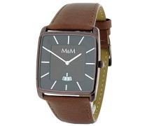 Armbanduhr Analog Quarz Kunstleder M11761-595