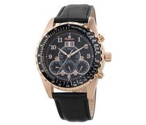 Datum klassisch Automatik Uhr mit Leder Armband BM302a-362