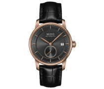 Analog Automatik Uhr mit Leder Armband M86083134