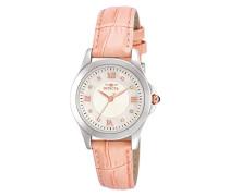 Damen-Armbanduhr XS Analog Quarz Leder 12544
