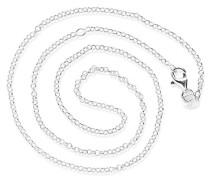 Damen- Erbskette 925 Sterlingsilber 45 cm