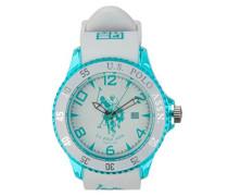 US Polo Association -Armbanduhr Analog Silikon USP4291GR_GR