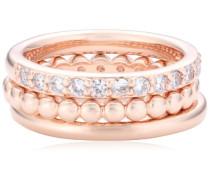 Damen-Ring Bronze kombinierbar Gewicht 6,5g