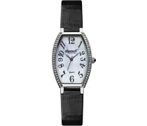 Quartz Armbanduhr Analog Quarz Leder INQ024WHBK