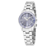 Armbanduhr JUST IN TIME Analog Quarz Edelstahl R7253202505