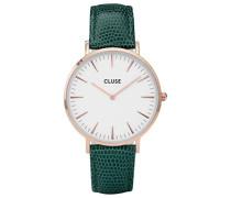 Damen Analog Quarz Uhr mit Leder Armband CL18038
