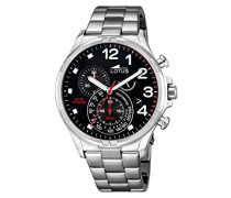 Herren-Armbanduhr Analog Quarz Edelstahl 10126/4