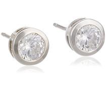 Ohrstecker 925/- Sterling Silber Zirkonia weiß 360221706