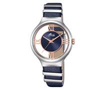 Damen-Armbanduhr Analog Quarz Leder 18337/2
