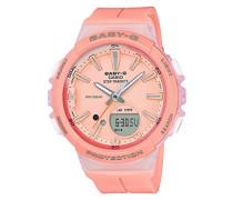 Baby-G Damen-Armbanduhr BGS-100-4AER