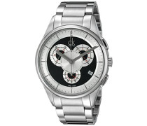 Armbanduhr XL Basic Chrono Chronograph Edelstahl K2A27104