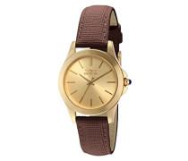 Damen-Armbanduhr XS Analog Quarz Leder 15150