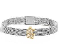 Damen-Charm-Armbänder Edelstahl Kristall SAJT29