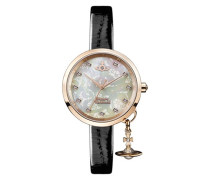 VV139WHBK Damen-Armbanduhr