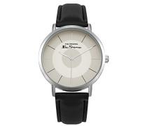Datum klassisch Quarz Uhr mit PU Armband BS014WB