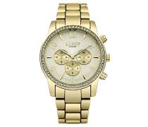Datum klassisch Quarz Uhr mit Aluminium Armband LP563