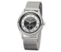 Analog Quarz Uhr mit Edelstahl Armband 11150609