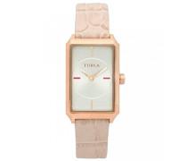 Datum klassisch Quarz Uhr mit Leder Armband R4251104501