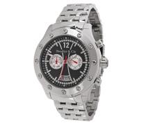 Architect Automatic Collection Automatik Armbanduhr mit multifunktionalem Zifferblatt - Analoge Anzeige - Kalender - Armband und Gehäuse aus Edelstahl Größe XL - OZG1097