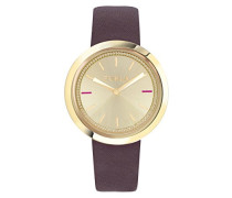 Analog Quarz Uhr mit Leder Armband R4251103510
