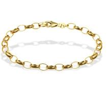Armband 333 Gelbgold Erbskette 19,5 cm Schmuck
