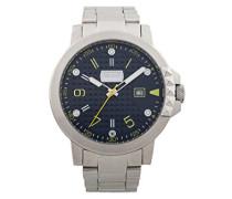 Analog-Digital Quarz Uhr mit Edelstahl Armband JC1G016M0075