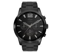 Time Chronograph Quarz Uhr mit Edelstahl Armband SO-3337-MC