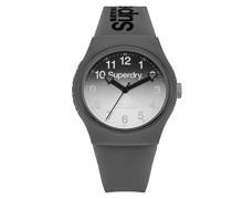 Analog Quarz Uhr mit Silikon Armband SYG198EE