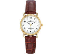 Damen-Armbanduhr Analog Quarz Leder 646239