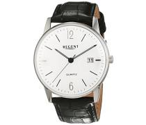 Herren-Armbanduhr Analog Quarz Leder 11110730
