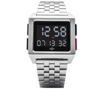 Digital Uhr mit Edelstahl Armband Z01-2924-00