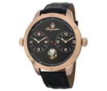 Datum klassisch Automatik Uhr mit Leder Armband BM233-322