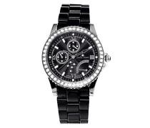 Armbanduhr Analog Quarz Premium Keramik Diamanten - STM15N2