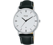 Herren-Armbanduhr Analog Quarz Leder PG8255X1