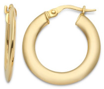 Damen-Creolen 9 Karat 375 Gelbgold MSIL911E