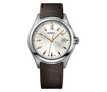 Datum klassisch Quarz Uhr mit Edelstahl Armband 1216330