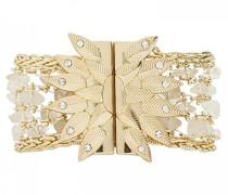 Damen-Manschetten Armbänder Vergoldet E18SMAGNGO