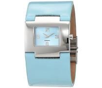 Damen-Armbanduhr Analog Quarz Leder FA-506546