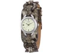 Damen-Armbanduhr Analog Quarz Leder W65013L1