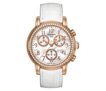 Damen-Armbanduhr Dressport Leder T0502173611201