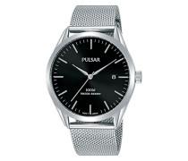 Analog Quarz Uhr mit Edelstahl Armband PS9571X1